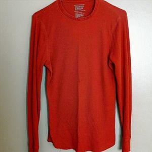 ❤ Old Navy Burnt Orange Long Sleeve Thermal Top
